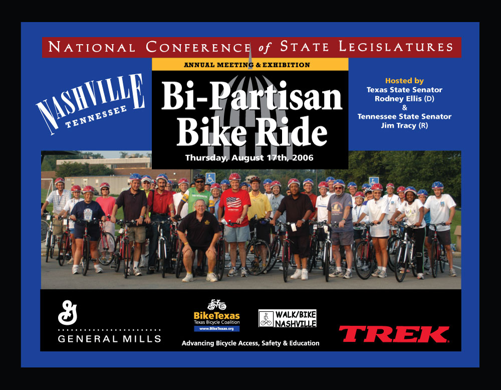 NCSL Bipartisan Bike Ride - Nashville