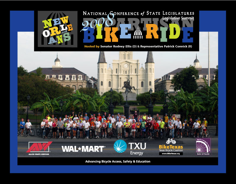 NCSL Bipartisan Bike Ride - New Orleans