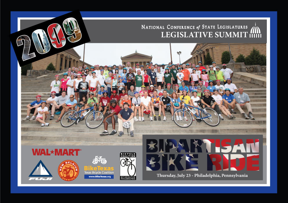NCSL Bipartisan Bike Ride - Philadelphia