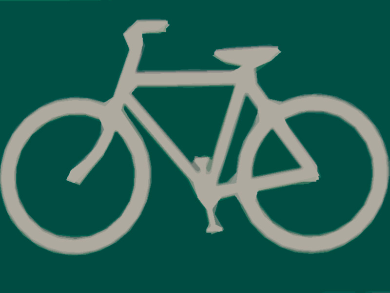 Bicycle Signs for Hwy. 4 in Palo Pinto County