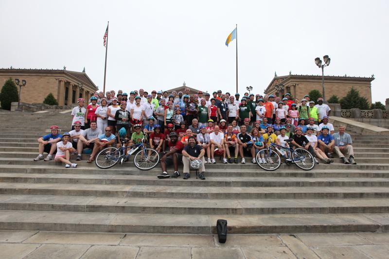 NCSL 2009 Bipartisan Bike Ride - Philadelphia