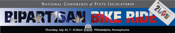 NCSL Bipartisan Bike Ride in Philadelphia