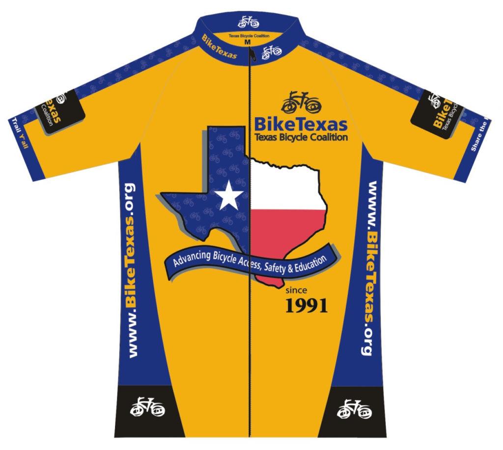 BikeTexas Jerseys Are Here!