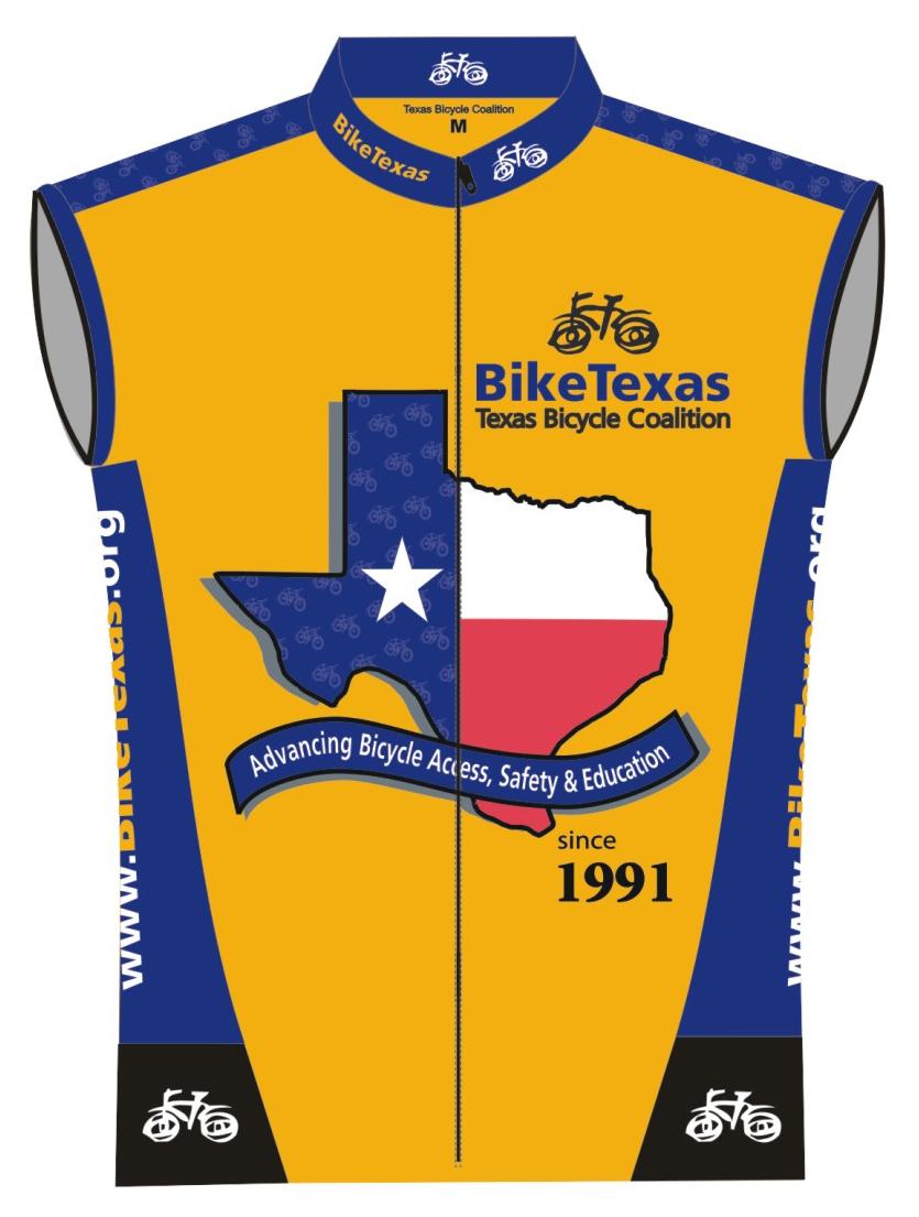 BikeTexas Jersey - Sleeveless