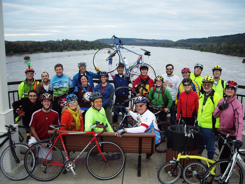BikeTexas Goes to Little Rock