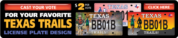 Cast Your Vote and Support Texas Trails