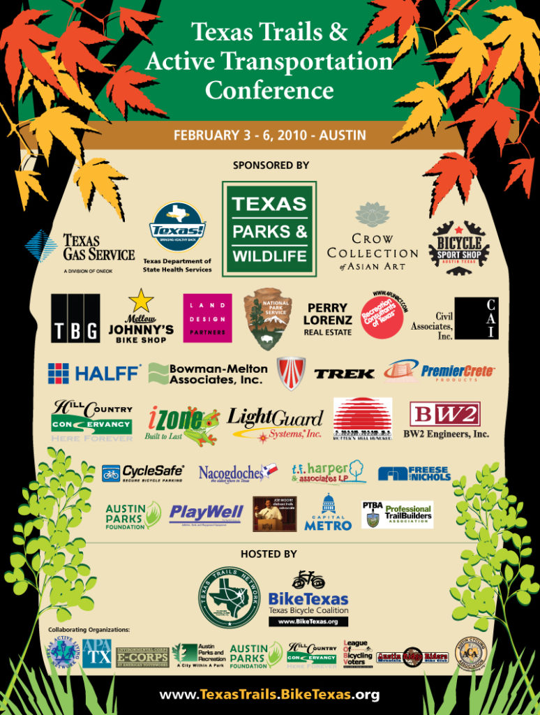 Thank You! To our Texas Trails & Active Transportation Conference Sponsors!