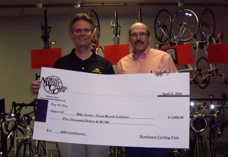 Big Thanks to Northwest Cycling Club!