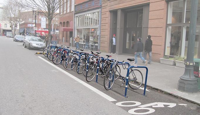 1.24 In-Street Bike Parking
