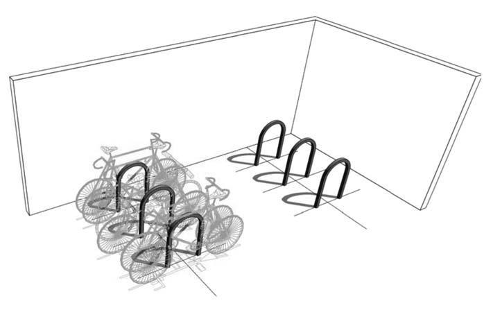 1.28 Secure Bike Parking Spaces