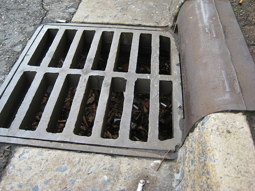 1.64 Storm Grates Parallel to the Street