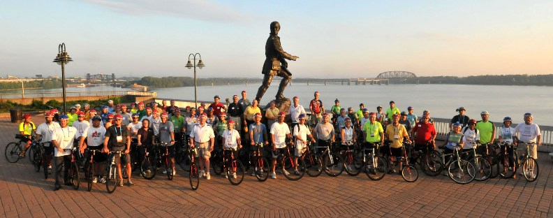 National Conference of State Legislatures Bipartisan Bike Ride 2010