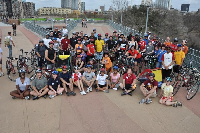 Capitol Wellness Ride Group Shot
