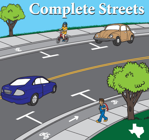 Call Your Senator and Urge a YES Vote on Complete Streets!