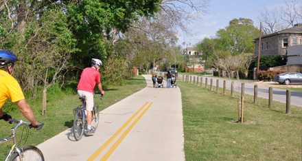 BikeTexas Helps Save Bike. Ped and Trail Funds from Rescission in 2011