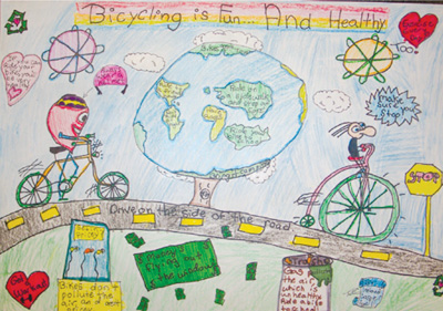 Poster Contest (5th Grade) – Saris Cycling Group