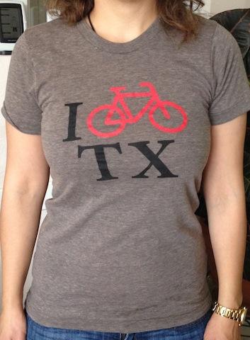 I BikeTexas T-Shirts