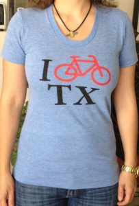 W Blue Biketexas T