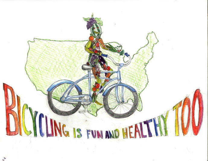 Bike Poster Contest Winners – Texas 5th Graders