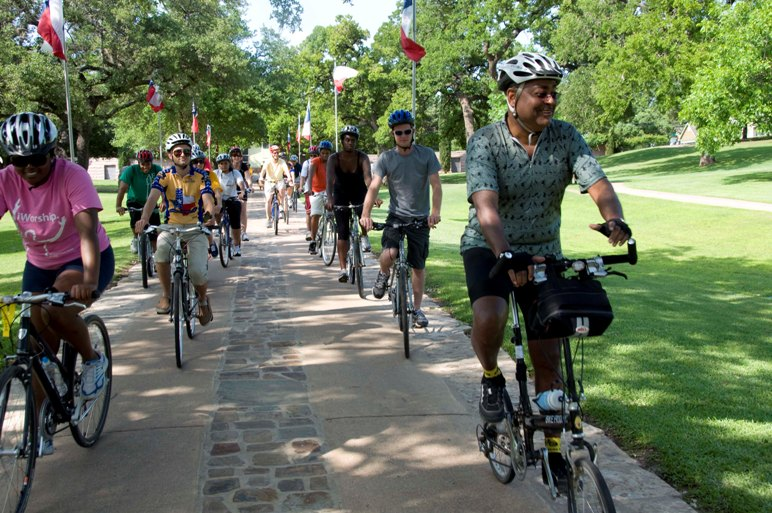 Bike Ban Defeated in Texas State Cemetery