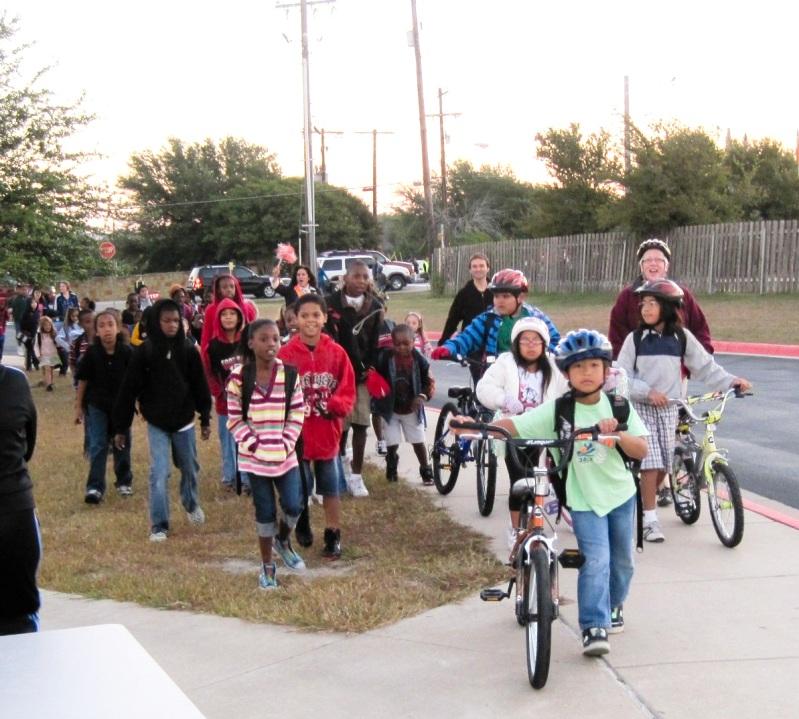 2010 Oct 6 Murchison Bike and Walk to School 2039