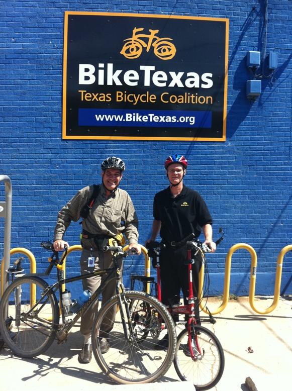 New TxDOT Bike/Ped Coordinator is On the Job