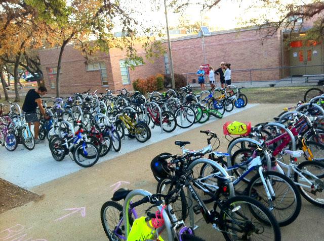 Boltage Program Increases School Biking and Walking