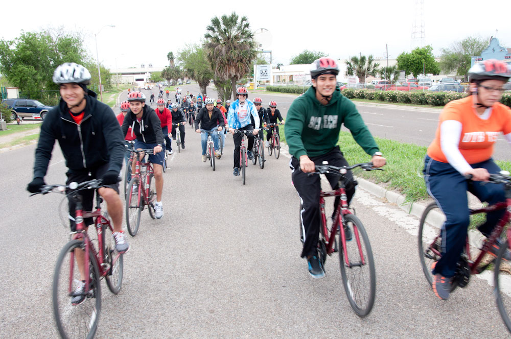 Brownsville Bike Ride Brings Together Student Cyclists and City Leaders