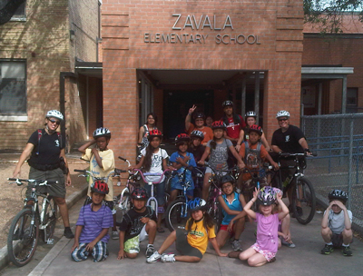 Zavala Elementary: Model of a Successful Elementary School Bike Club