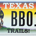 Trails! License Plate