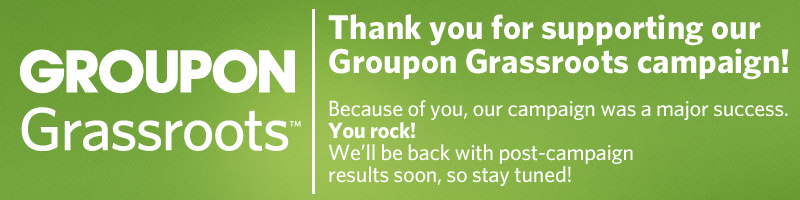 Thanks for Supporting the BikeTexas Groupon Grassroots Campaign