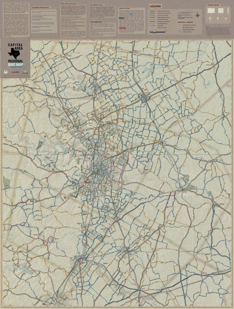 Austin Regional Bike Map Now Available