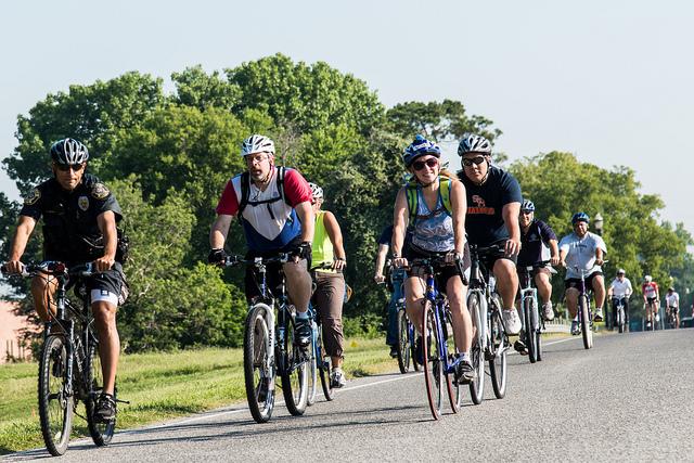 City of Sugar Land Hosts Bike to Work Day