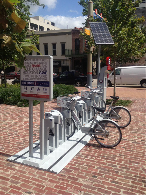 Houston B-cycle to Expand