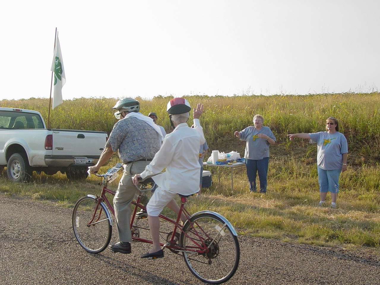 Photo of Tour d' Cotton courtesy of Judy Johnson.