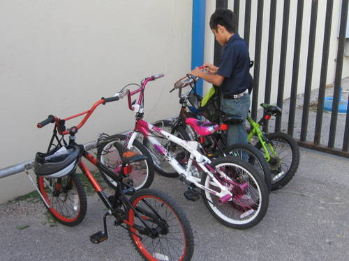 School Bicycle Events in DFW