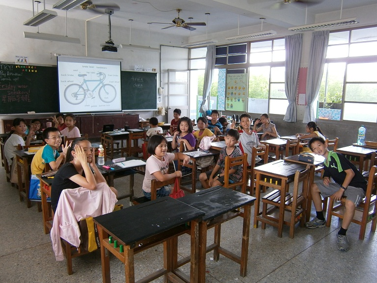 Cycling Education as a Language Learning Tool