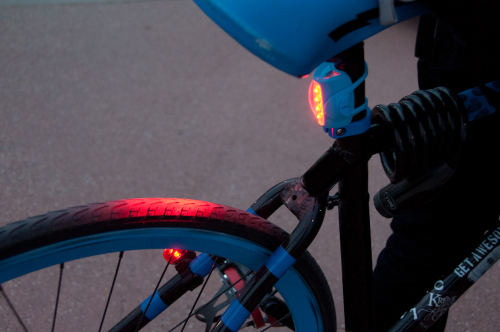 On the Lege: Red Rear Light Requirement