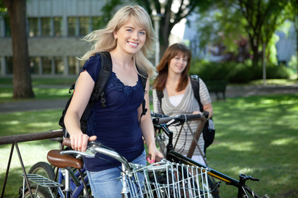 Getting Through College, Literally: Great Tips for Campus Bikers