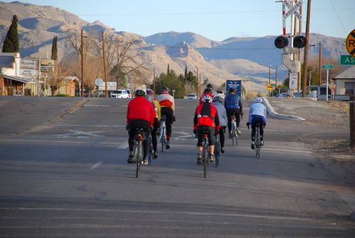 El Capitan ride leaving Van Horn