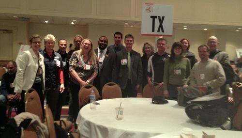 Texans at 2013 National Bike Summit