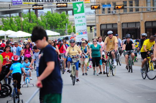 Open Streets and Bike Share in Texas