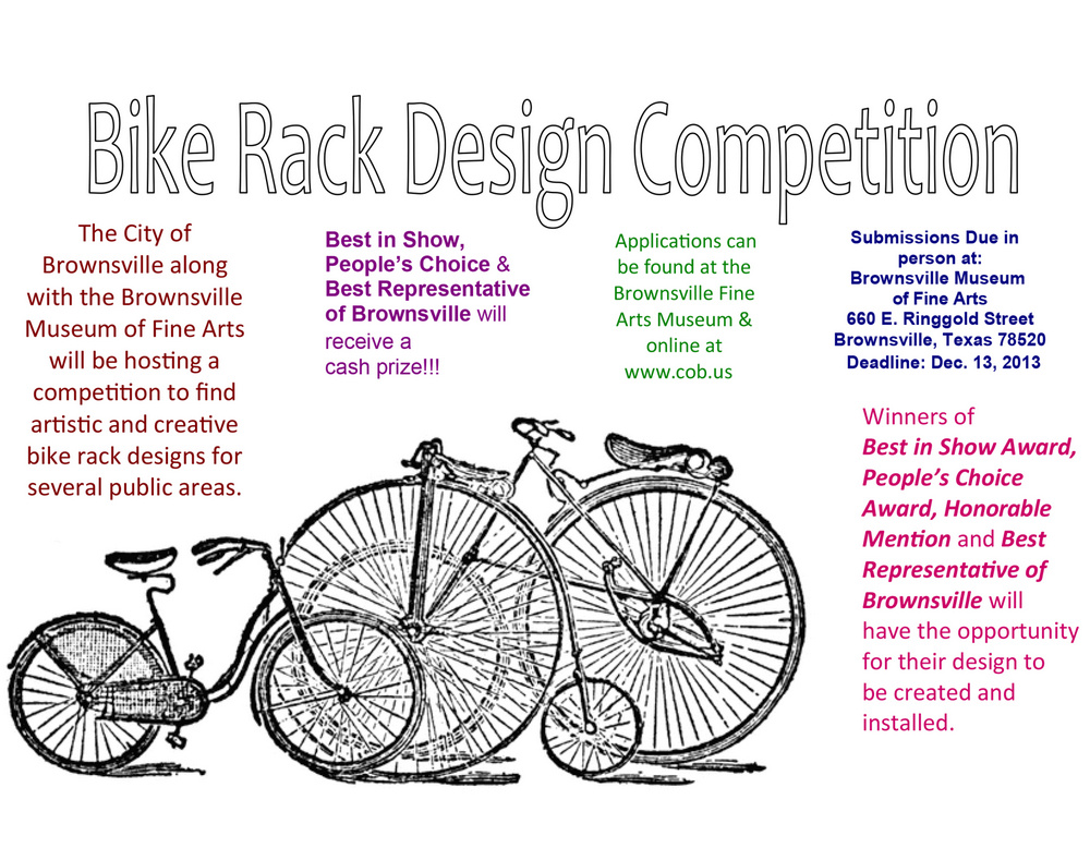 Brownsville Seeking Bike Rack Designs