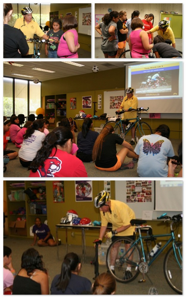 BOUNCE Participants Learn from SafeCyclist