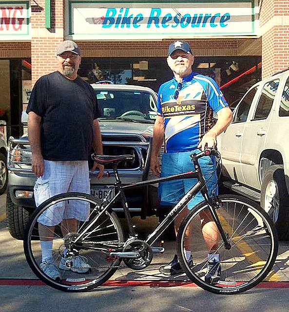 BikeTexas Bike Giveaway Winner!