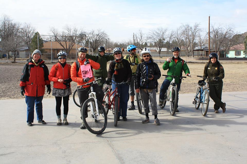 Fort Davis Ride for Reading cyclists