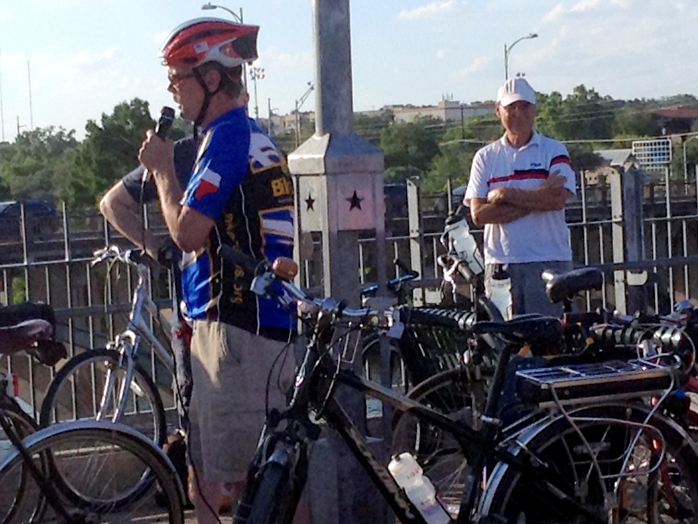 Ride of Silence in Austin