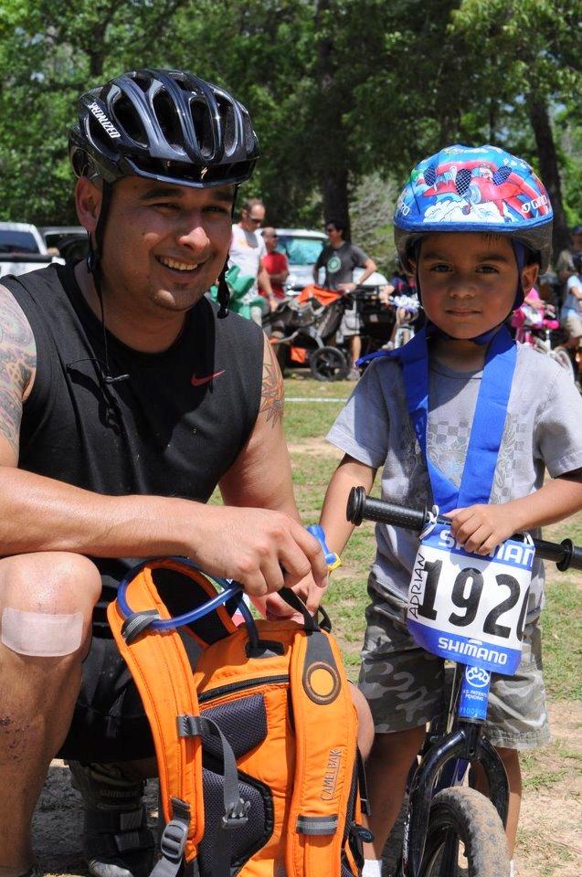 BikeTexas KidsKup at The Warda Race
