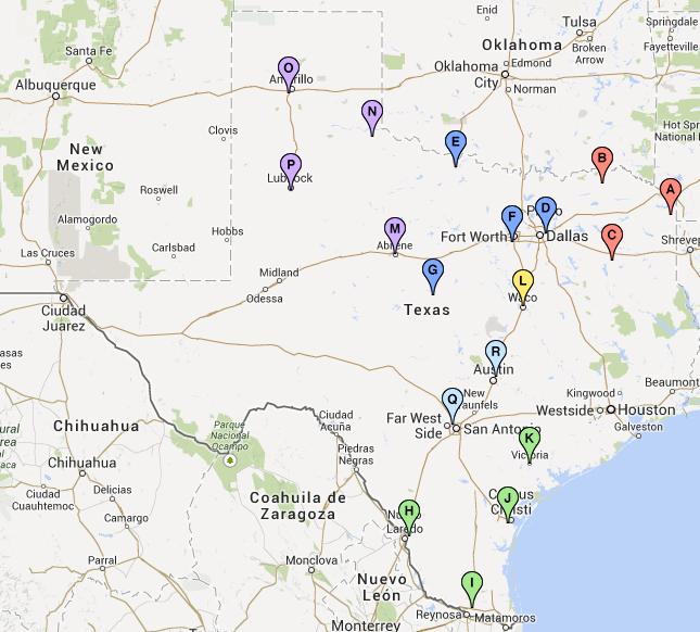 TTP 2040 Meeting Map