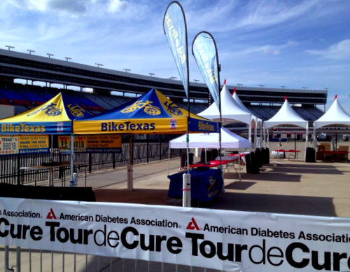 Tour de Cure at the Texas Motor Speedway